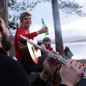 19 Musical campfire T Bean