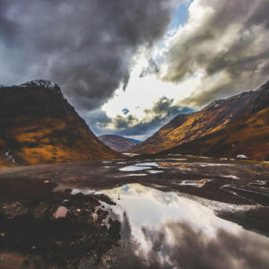 23 Dramatic loch landscape IMG 9489 A Cross