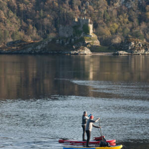 3 2018 Castle Tioram and paddle boarders J Bedford copy