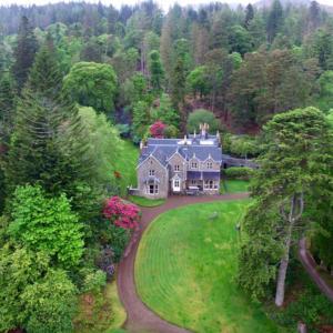 Eilean Shona House Aerialldevereux